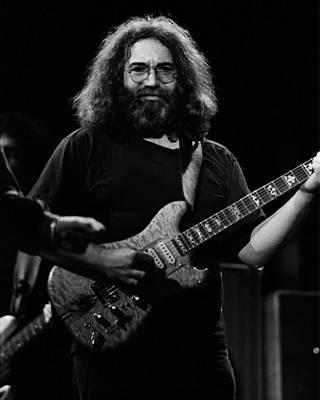 Jerry Garcia Band Photograph - J G B #38 by Ben Upham