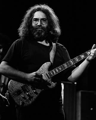 Jerry Garcia Band Photograph - J G B #39 by Ben Upham