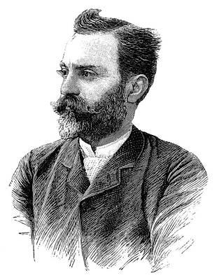 J-l. Dutreuil De Rhins Print by Science Photo Library