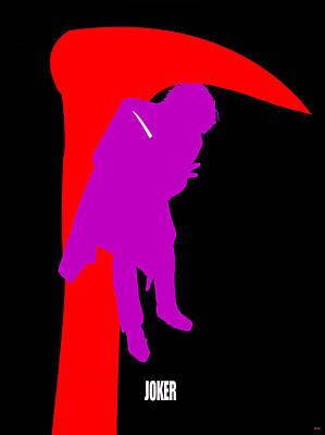 Heath Ledger Digital Art - J Oker Poster by Daniel Janda