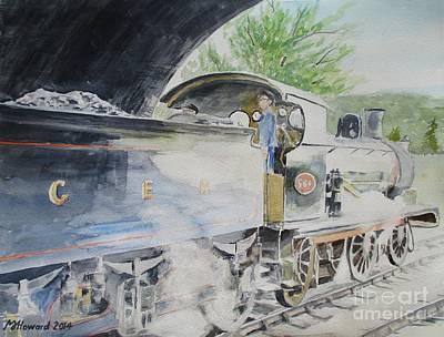 J15 564 Leaving Sheringham Print by Martin Howard