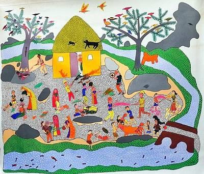 Gallerie Ak Painting - Ja Gj 04 by Govind Jogi