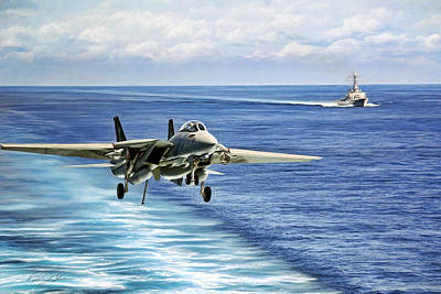 F-14 Digital Art - Jack In The Groove by Peter Chilelli