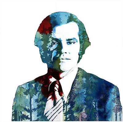 Jack Nicholson Painting - Jack Nicholson by Celestial Images