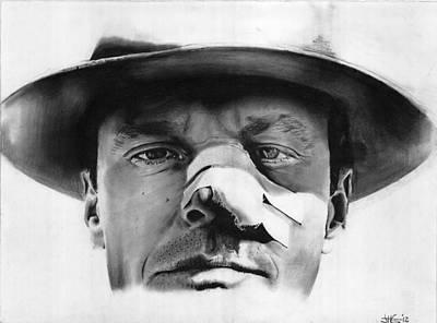 Jack Nicholson Drawing - Jack Nicholson Chinatown by Jack Gordon