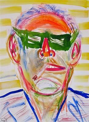 Jack Nicholson Painting - Jack Nicholson by Troy Thomas