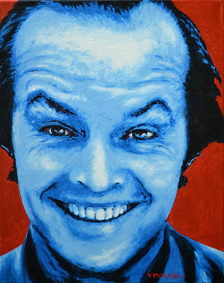 Jack Nicholson Original by Victor Minca