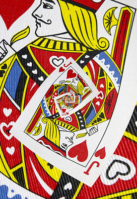 Poker Photograph - Jack Of Hearts Collage by Kurt Van Wagner