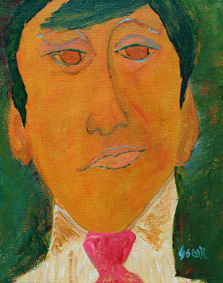 Painting - Jack by Oscar Penalber