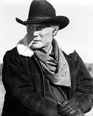 1990 Photograph - Jack Palance In City Slickers  by Silver Screen