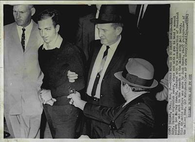Oswald Photograph - Jack Ruby Assasination Of Lee Harvey Oswald by Retro Images Archive