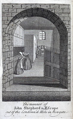 Escape Photograph - Jack Sheppard Escaping by British Library