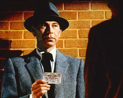 Television Photograph - Jack Webb In Dragnet  by Silver Screen
