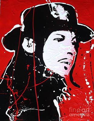 Painting - Jack White by Michael Kulick