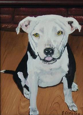 Jackie Dog Original by Betty Compton