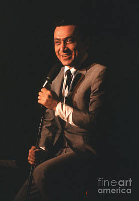 Jackie Mason Performing In 1964 Print by The Phillip Harrington Collection