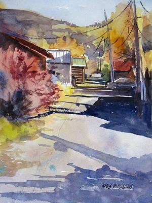 Jackson Alley Print by Kris Parins
