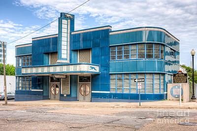 Jackson Mississippi Greyhound Bus Station I Print by Clarence Holmes