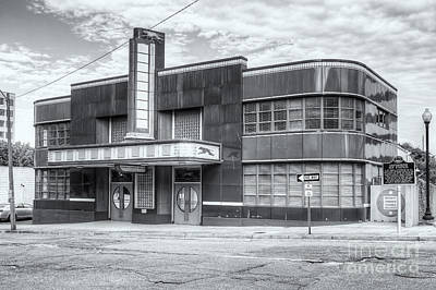 Jackson Mississippi Greyhound Bus Station II Print by Clarence Holmes