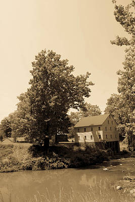 Old Mill Scenes Photograph - Jackson's Mill Timeless Series 5 by Howard Tenke