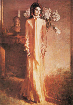 American First Lady Painting - Jacqueline Kennedy, First Lady by Science Source