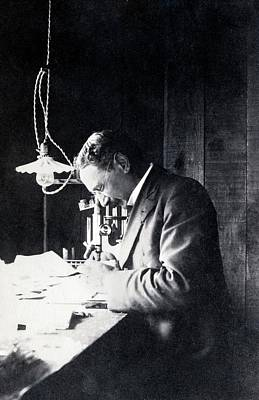 White Lab Photograph - Jacques Loeb by American Philosophical Society