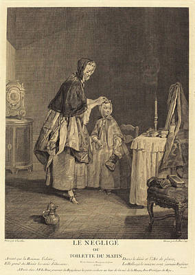 Jacques-philippe Le Bas After Jean Siméon Chardin French Print by Quint Lox
