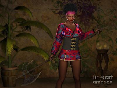 African-american Digital Art - Jaded Revenge by Alexander Butler