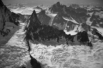 Jagged Magnificence Print by Roger Clifford