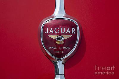 Jaguar Oldtimer Symbol Print by Heiko Koehrer-Wagner