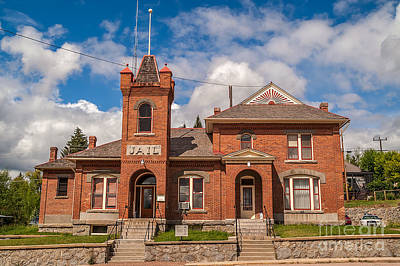 Public Jail Photograph - Jail Built In 1896 by Sue Smith