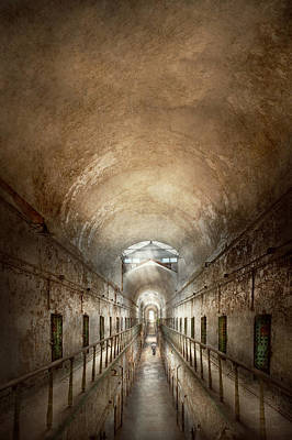 Jail - Eastern State Penitentiary - End Of A Journey Print by Mike Savad