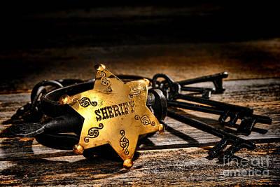 Law Enforcement Photograph - Jailer Tools by Olivier Le Queinec