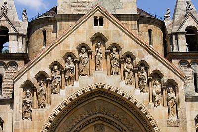 Jak Photograph - Jak Chapel Architectural Details In Budapest by Artur Bogacki
