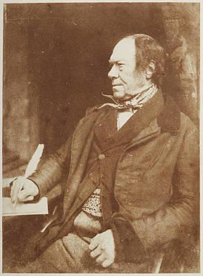 Portaits Photograph - James Aytoun by British Library