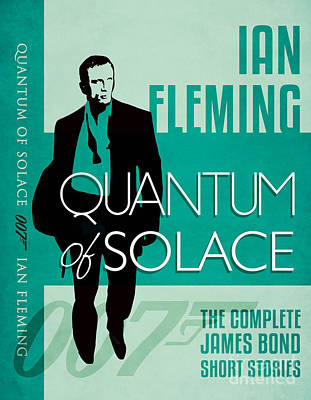 James Bond Book Cover Movie Poster Art 3 Print by Nishanth Gopinathan