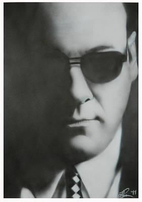 P.r Painting - James Gandolfini/tony Soprano by Jake Rogers