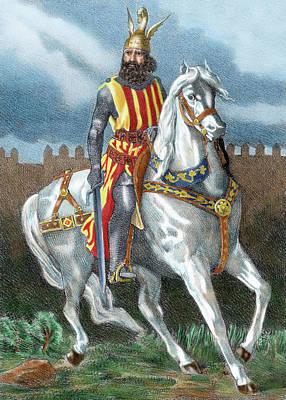 James I The Conqueror (1208-1276 Print by Prisma Archivo