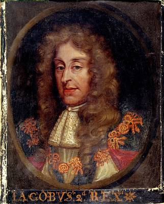 Famous Book Photograph - James II by British Library