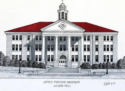 James Madison University Print by Frederic Kohli