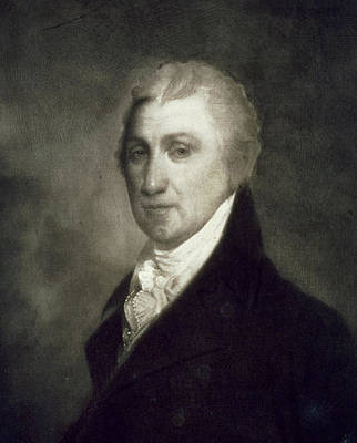 James Monroe Print by American School