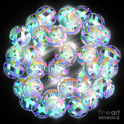 Jammer Shimmer Glow 001 Original by First Star Art