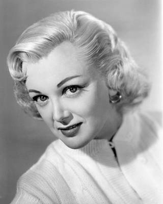 Sterling Photograph - Jan Sterling by Silver Screen