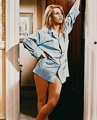 Jane Fonda In Barefoot In The Park  Print by Silver Screen