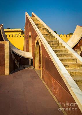 Rajasthan Photograph - Jantar Mantar by Inge Johnsson