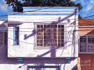 Painting - January Light by Lynette Cook