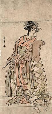Japan Geisha, C1782 Print by Granger