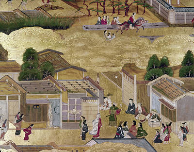 Kyoto Painting - Japan Kyoto, 1730 by Granger