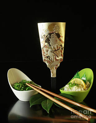 Japanese Fine Dining Print by Inspired Nature Photography Fine Art Photography