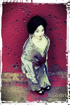 Manipulation Photograph - Japanese Geisha by Sophie Vigneault
